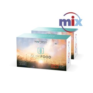 Slim Food Classic Mix 2x18 batonów